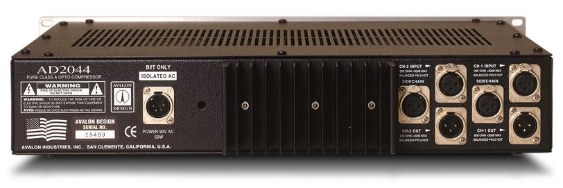 Avalon Compressors, AD2044 Specs & Details