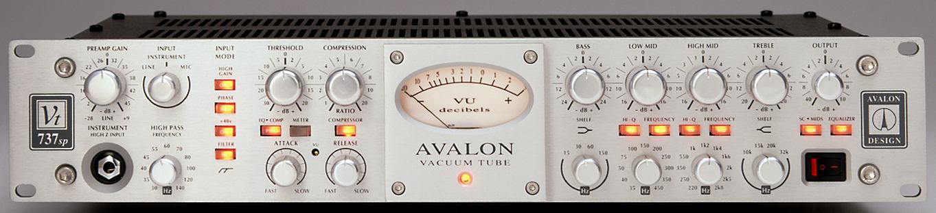 Avalon - VT-737sp, Specs & Details